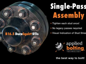 DuraSquirt® DTI Single Pass Flange System 70% faster!