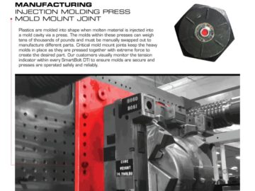 SmartBolts® DTI™ in injection molding presses